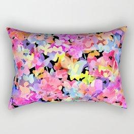 Posey Rain Rectangular Pillow