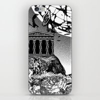 buildings iPhone & iPod Skins featuring Buildings by Spew Jersey