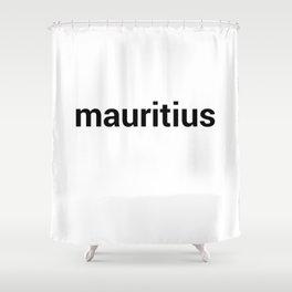 mauritius Shower Curtain