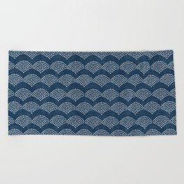 Wabi Sabi Arches in Blue Beach Towel