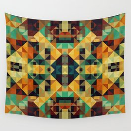 Playful Geometry 005 Wall Tapestry