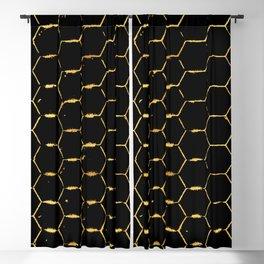 golden beehive Blackout Curtain