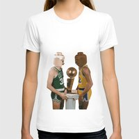 lakers T-shirts featuring lego magic by tbdaniel15