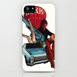 Hustlin' With Rick iPhone Case