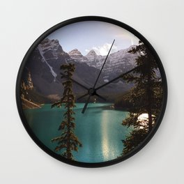 Reflections / Landscape Nature Photography Wall Clock