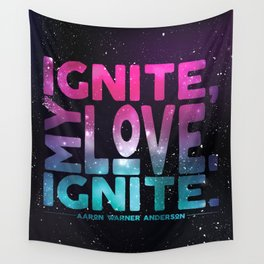 Shatter Me - Ignite, My Love Wall Tapestry