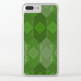 Op Art 93 Clear iPhone Case