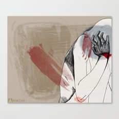 Bear Claw Canvas Print