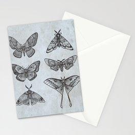 Moths & Butterflies Stationery Cards