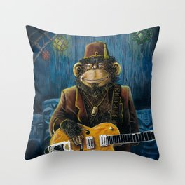 Dusty Throw Pillow