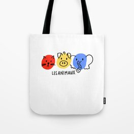 les animaux Tote Bag