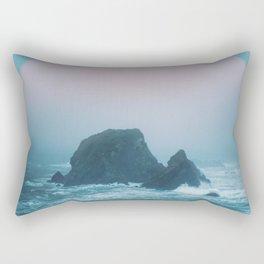 Peach Sunrise Rectangular Pillow