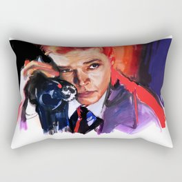 Peeping Tom Rectangular Pillow