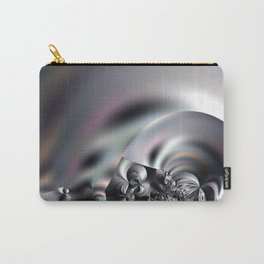 Complexity under smooth simplicity - Abstract play with focus Carry-All Pouch