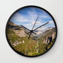 Yosemite River Wall Clock