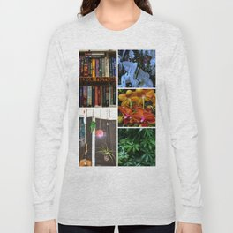 Floral Collage Long Sleeve T-shirt