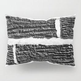 B&W Brick Wall Pillow Sham
