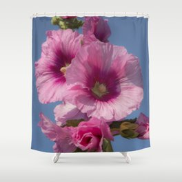Purple Bells Shower Curtain