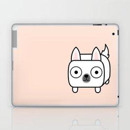 German Shepherd Loaf in White Laptop & iPad Skin