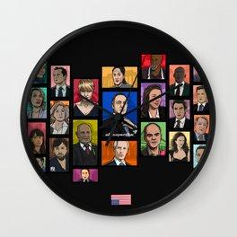 Underwood 2016 Season 2 Wall Clock