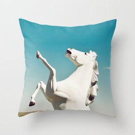 Guardian of the Plains Throw Pillow
