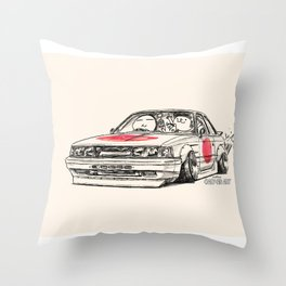 Crazy Car Art 0176 Throw Pillow