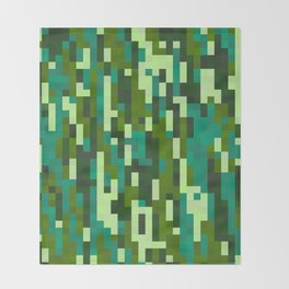 Pixelation Throw Blanket