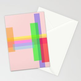rectangle multiples Stationery Cards