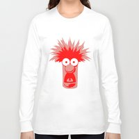 muppets Long Sleeve T-shirts featuring Muppets beaker by siti fadillah