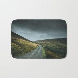 Road into the mountains Bath Mat