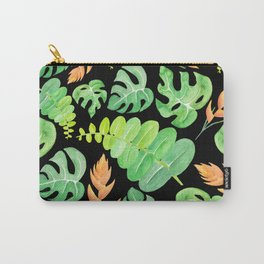 Tropical leaves II Carry-All Pouch