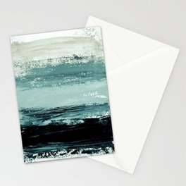 abstract minimalist landscape 4 Stationery Cards