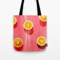fruit Tote Bags featuring fruit 5 by LEEMO