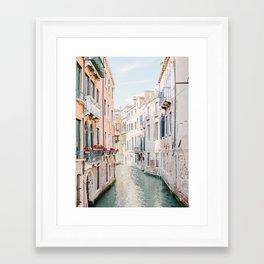Venice Morning - Italy Travel Photography Framed Art Print