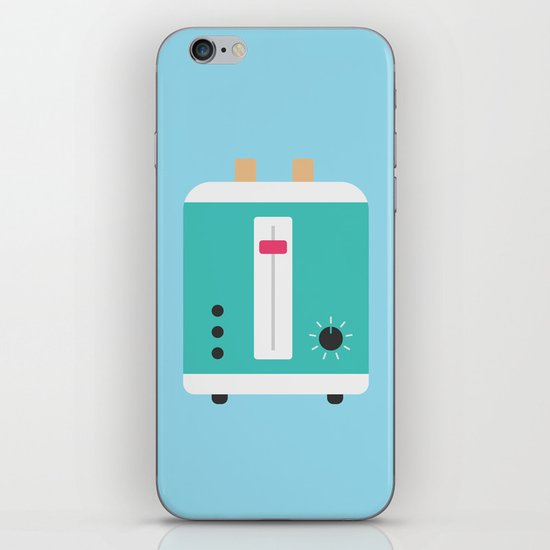 #82 Toaster iPhone & iPod Skin