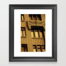 Golden Ram Framed Art Print