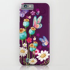 Purple Meadow Slim Case iPhone 6s