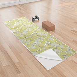ginkgo leaves (special edition) Yoga Towel