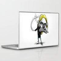 kurt cobain Laptop & iPad Skins featuring Kurt by Hanif