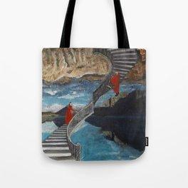 """""""Ascent/ Descent"""" Tote Bag"""
