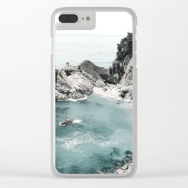 California Beach Clear iPhone Case