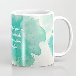 2 Timothy 1:7, Inspiring Bible Verse Coffee Mug