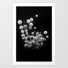 Orbs Art Print