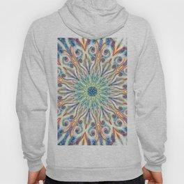 Colorful Center Swirl Hoody
