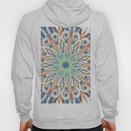 Colorful Center Swirl Hoody