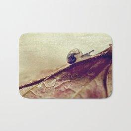 little snail Bath Mat