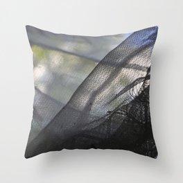 site drapery detail Throw Pillow