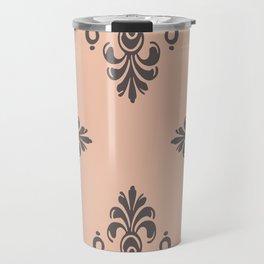 Rococo Floral Elements I Travel Mug
