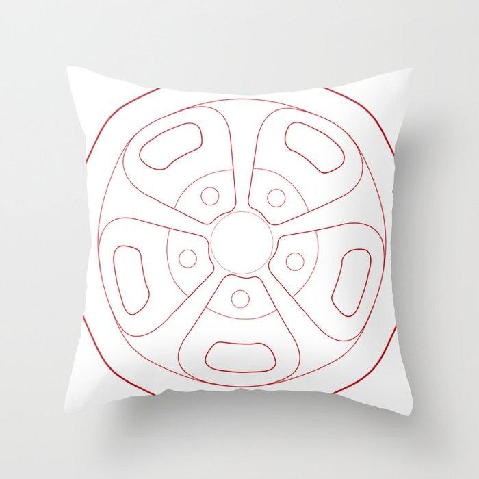 Cragar Magnum Throw Pillow