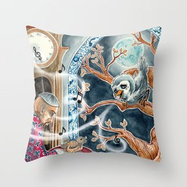 The Nightingale Series - 7 of 8 Throw Pillow